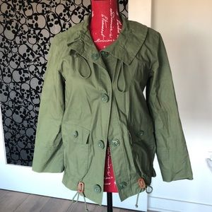 JCrew army green field jacket